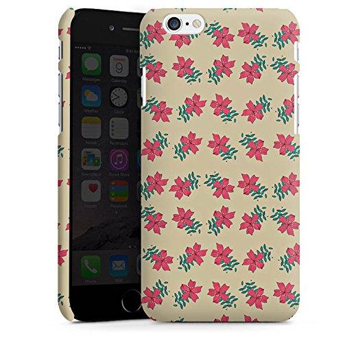 Apple iPhone X Silikon Hülle Case Schutzhülle Blumen Muster Retro Premium Case matt