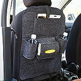Kicode Nützliches Cnvenience Universal Autositz zurück hängen Mehrfach-Taschenhalter Beutel Aufbewahrungstasche Zubehör