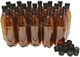 Home Brew Online Brown Screw Cap Top PET Plastic Bottles 500ml Basic 40 Pack