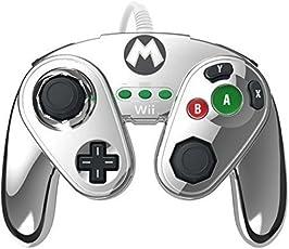 Gamecube Controller für WiiU - Mario Metal Design