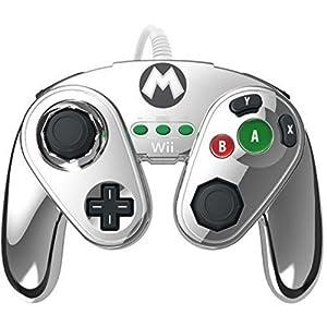 Gamecube Controller für WiiU – Mario Metal Design
