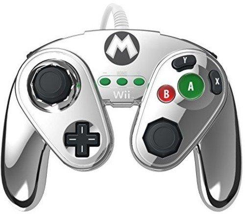 Gamecube Controller für WiiU - Mario Metal Design (Nintendo Gamecube Super Mario)