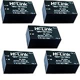 HI-Link HLK-PM01 AC-DC 220V bis 5V Step-Down Netzteil Modul Intelligent Haushalt Schalter Netzteil Modul 5 Stück /Set