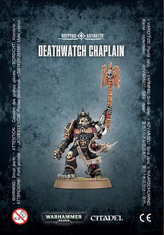 40k Warhammer 40,000 Deathwatch Chaplain (1 figure)