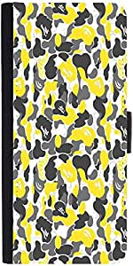 Snoogg Bape Camo Camouflage 2751 Graphic Snap On Hard Back Leather + Pc Flip ...