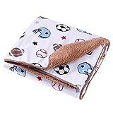 domybest recién nacido regla de felpa manta ropa de cama muselina bebé cochecito carrito para mantas # 1