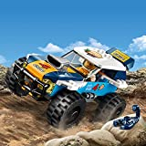 LEGO 60218 City Great Vehicles Desert Rally Racer Toy Car, Racing Construction Set for Kids