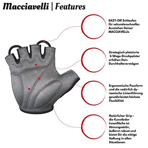 Zoom IMG-2 macciavelli guanti mtb per uomo