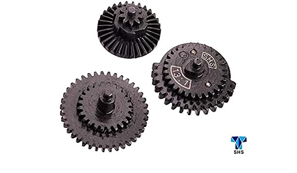 3 Gearbox AEGs SHS CNC Gen3 12:1 Gearset Ultra High Speed for V.2 CL14004