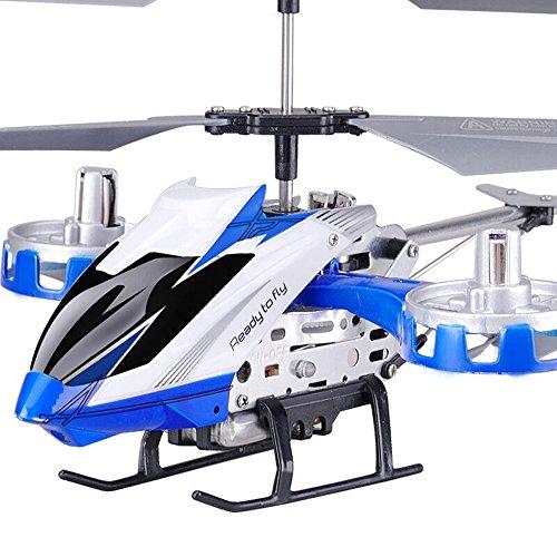 Pinjeer Control Remoto de Aviones Drone Anti-caída Side Flying Version Giroscopio de Carga Modelo de Navegación de Helicóptero de Control Remoto Juguetes Educativos para Niños de Edad 6+