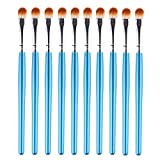 'Clearance Sale! Makeup Brushes Set Leedy High Quality 10pcs Eyeshadow Eye Contour Powder Foundation Lip Make Up Brush, Powder Liquid Cream Cosmetics Blending Brush Tool Kits