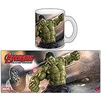 Avengers Age Of Ultron tazza The Incredible Hulk–bianco, stampato, in ceramica.