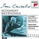 Schubert: Piano Trio No. 1; Beethoven: Piano Trio No. 2