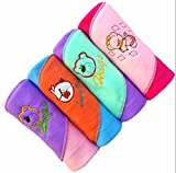 #2: BRANDONN Premium Quality 4PC A/C Baby Blanket Cum Baby Wrapper(Pack Of 4 , Assorted)
