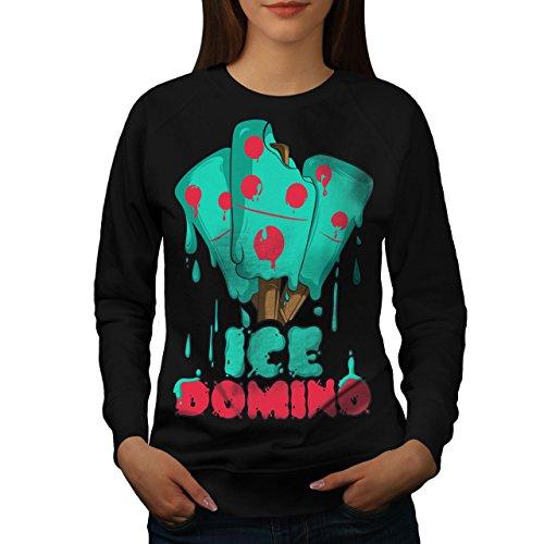 Eis Domino Frau M Sweatshirt | Wellcoda