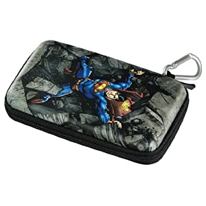 J-Straps Superman Tasche inkl. Teleskop Pen für Nintendo 3DS, Nintendo Dsi, Nintendo DSL