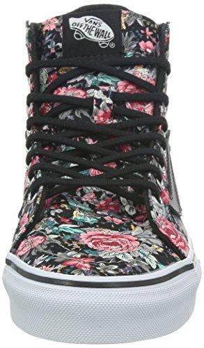 Herren Sneaker Vans Sk8-Hi Slim Sneakers (multi floral) black/true