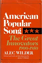 American Popular Song: The Great Innovators 1900-1950