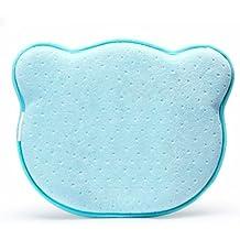 Almohada Bebé para Plagiocefalia Ortopédica para Cabeza Plana con Cobertores Extraíble de YOOFOSS