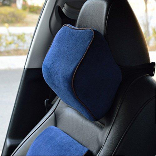 Michalin blaues Gedächtnisbaumwollauto-Kopfstützeautomobil liefert die Vier Jahreszeiten-Nackenschützer Bequeme Art und Weise