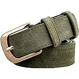 V-SOL Cinturón Cuero Artificial Con Hebilla Para Mujer