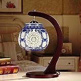 Wsxxn Lámpara de mesa clásica de cerámica china - Best Reviews Guide