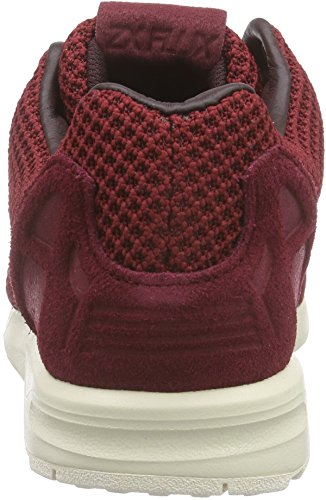 adidas Zx Flux, Sneakers Basses Homme Rouge (Collegiate Burgundy/Night Red/Chalk White)