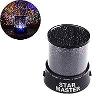 Jdwg inanılmaz renkli yıldız-Gökyüzü-romantik hediye-Kosmos-Gökyüzü-yıldız-Vorlagenmagie-Baby-Kinderprojektor-LED-yıldızlı ge
