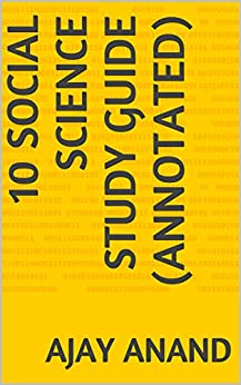 10 Social Science Study Guide (Annotated) by [Anand, Ajay]