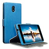 Nokia 3 Hülle, Terrapin Leder Tasche Case Hülle im Bookstyle mit Standfunktion Kartenfächer für...