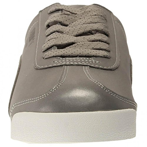 Puma Roma Reflective Hommes Synthétique Baskets Silver Metallic-Black