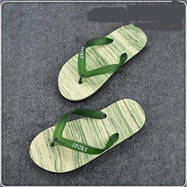 pantofole Infradito da uomo Pantofole & amp;Infradito Estate comfort personalizzato Materiali Cas sandali US10.5 / EU43 / UK9.5 / CN45