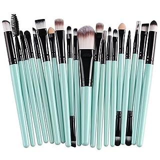 Akord Soft Powder Foundation/Lidschatten/Eyeliner/Lip Make-up-Pinsel-Sets, 20