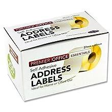 Premier Stationery 89 x 37 mm Depot Address Labels