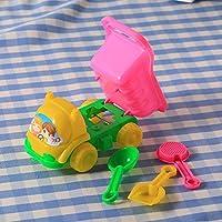 Cido 3Pcs Sand Rake Dump Truck Spade Shovel Children Kids Baby Boys Girls Fun Play Beach Toys Set