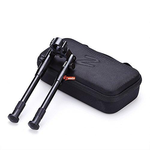 Zeadio allgemein Zweibein mit Gewehrlauf Klemme + regendicht stoßfest Tasche, ZBP-009-CEA
