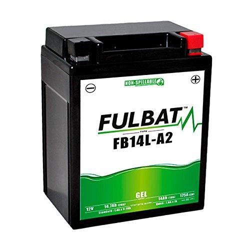 Fulbat - Batteria moto Gel YB14L-A2 / 12N14-3A 12V 14Ah