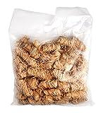 Allgrill Bio-Anzünder aus Holzwolle und Wachs im 1 kg Beutel (Inhalt pro Beutel ca. 100 Stück)