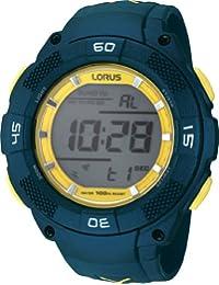 Lorus Herren-Armbanduhr Sport Digital Quarz Kautschuk R2375HX9