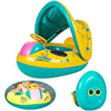 Neverland Baby Toddler Kids Child Swimming Float Seat Boat Ring Swim Pool Toy Inflatable