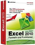 Image de Das große Buch: Excel 2010 Formeln & Funktionen