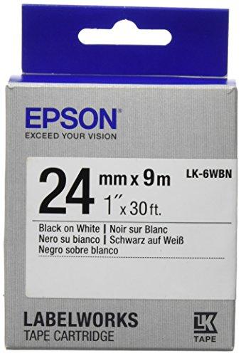Preisvergleich Produktbild EPSON Ribbon LK-6WBN white/black