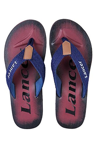 Lancer Men's Synthetic Flip-Flops (8)  available at amazon for Rs.299