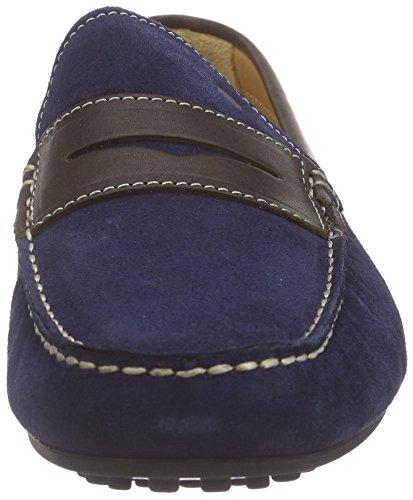 Florsheim COMET, Mocassins (loafers) homme Bleu - Blau (INDIGO SUEDE/DK BRN CALF 88)