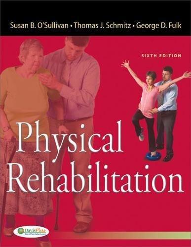Physical Rehabilitation 6e (O'Sullivan, Physical Rehabilitation) por Susan B. O'Sullivan