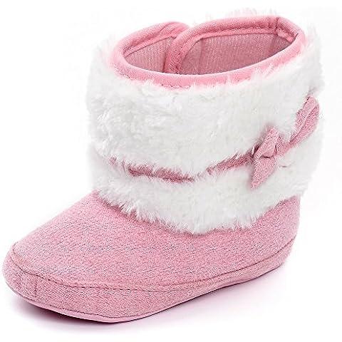 Estamico Baby Girl Plush fiocco inverno neve