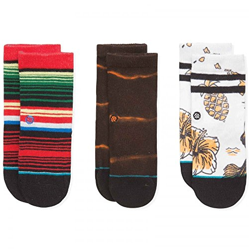 Stance Toddler Boy Chancho T Box Set Socks in White