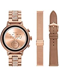 Fossil Q Gen 4 Hr Digital Black Dial Women's Watch-FTW6021SET