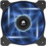 Corsair CO-9050015-BLED Air Series AF120-LED Quiet Edition 120mm High Airflow LED Gehäuselüfter, Blau