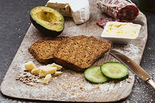 Atempause Carb Free Low Carb | Sieht aus wie Brot, schmeckt wie Brot, ist kein Brot